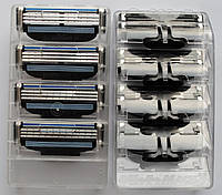 Картриджи Gillette Mach3 Оригинал 4 шт без упаковки производство Германия