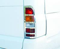 Накладки на задние фонари Ford Transit (2000+)