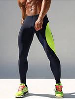 Мужские компрессионные штаны с яркой полосой Big Guy, фото 1