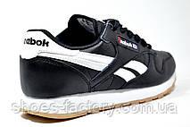 Кроссовки мужские в стиле Reebok Classic Leather Black, фото 3