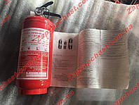 Огнетушитель автомобильный с манометром ВП-2(3) 2кг
