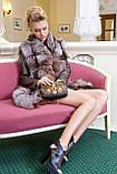 "Шуба из чернобурки ""Камилла"" silver fox fur coat jacket vest gilet, фото 9"