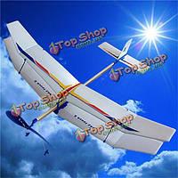 3шт/комплект планера резинкой эластичным приводом летать самолет самолет весело модели дети игрушки