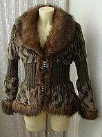Куртка утепленная модная кофта р.46-48 7131а, фото 1