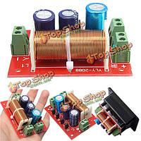 Регулируемые высоких частот / бас делителя частоты 2 полосная аудио фильтры кроссовера