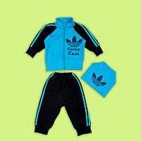 Детский спортивный костюм для мальчика Адидас Супер Сын