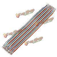 120шт 30см мама-мама макетная перемычку кабельный разъем проводной линии