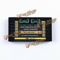 FrSky резервирование шина телеметрическая 16ch серво датчик интерфейс s.port двоевластие и приемник