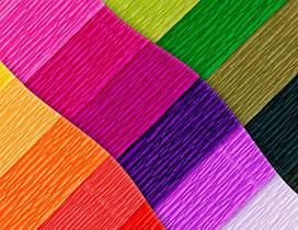 Бумага цветная, креповая бумага, квиллинг