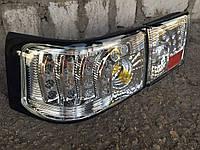 Диодные задние фонари на ВАЗ 2110 Картечь (хром)