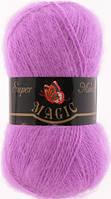 MAGIC Супер Мохер 100г/260м 1339 розовая сирень
