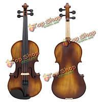 Astonvilla ау-506 4/4 ель из массива дерева старинные скрипки с корпусом и аксессуарами