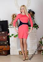 Деловое женское платье .  р-ры  от 42  до 54