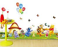 """Интерьерная наклейка на стену для детей """"Винни Пух"""""""