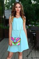 Платье-сарафан шифон легкое.  4 Цвета