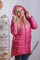 Пальто зимнее с капюшоном.   Размеры 42 _ 52-54