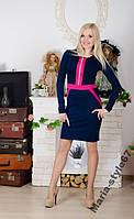 Платье на молнии. р-ры  от 42  до 54