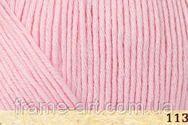 Фибра натура Коттон Тру Спорт 50гр/180м 107-13 светло-розовый