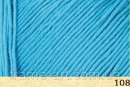 Фибра натура Коттон Тру Спорт 50гр/180м 107-08 темно-голубой