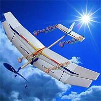 Планера резинкой эластичное приведенное в действие летающий самолет самолет весело модели дети игрушки