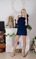 Туника женская с гипюром.  р-ры  от 42  до 54