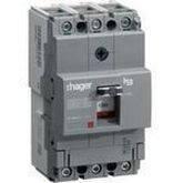 Автоматический выключатель h160 3-полюса 18kA 80A Hager HDA080L