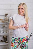 Блуза женская летняя. Размеры от 42 до 50