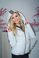 Куртка спорт белая. S__XXL