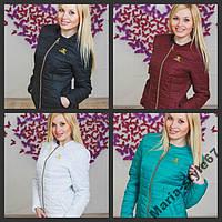 Курточка женская c вышивкой ШАНЕЛЬ. 4 цвета