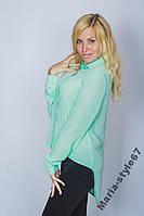 Блуза молодежная шифон. Размеры от 42 до 50