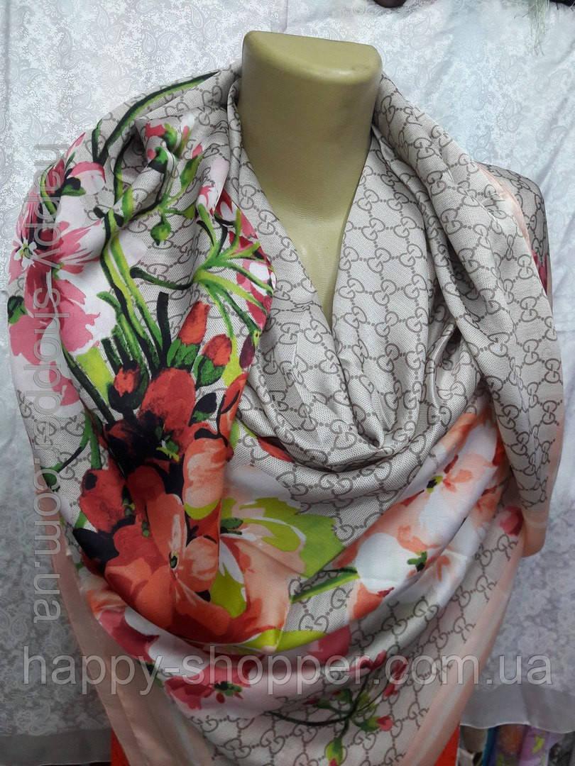 Платок шелковый бренд