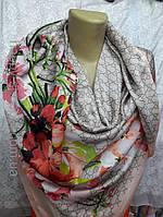 Платок шелковый бренд, фото 1