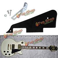 3 слоя Л.П. акустическая гитара накладку царапина Защитная панель с серебристой винта кронштейна