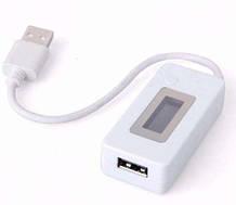 USB тестер KCX-017 Вимірювач ємкості,вольт,амперів
