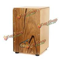 Геккон cl026r zingnan дерево Каджон барабан с мешком