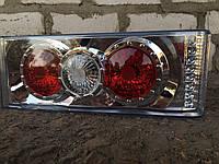 Тюнинг на ВАЗ 2109,задние фонари №0013-1 (хромированные)