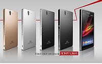 """SONY Z C6602/C6603 цельнометаллический алюминиевый чехол бампер рамка оригинальный для телефона """"XIBICEN"""""""
