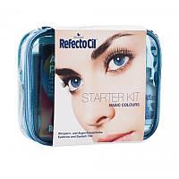 Стартовый набор для окрашивания бровей и ресниц  RefectoCil