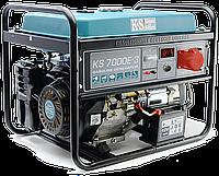 Бензиновый генератор KS 7000E-3 (5.5 кВт; ТРЕХФАЗНЫЙ; Германия)