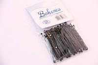Невидимки Bohema чёрные 50 мм. 50 шт.