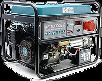 Бензиновый генератор KS 10000E-3 (8 кВт; ТРЕХФАЗНЫЙ; Германия)