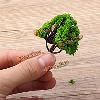 Мох микро декоративные украшения ландшафта моделирование поделок материал грейпфрут дерево