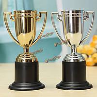 Мини трофей трофеи подарок награду приз футбол футбол кубок дети мешок партии наполнителя