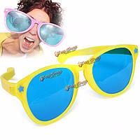 Большие цветные комедии смешные шутки очки солнцезащитные очки для клоуна рвотным платье фантазии