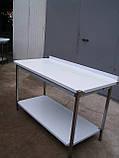 Стол производственный из нержавеющей стали, фото 2