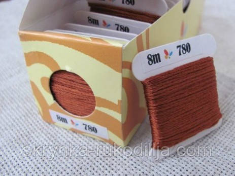 Шовкове муліне 780 (Sunny Silk) Південна Корея