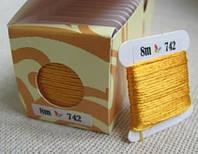 Шовкове муліне 742 (Sunny Silk) Південна Корея
