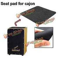 Геккон площадкой для Каджон черной подушки сиденья