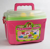 Детский кухонный набор посуды ТехноК 2407 №8 23 предмета