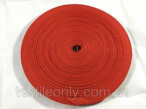 Тесьма светоотражающая 10 мм цвет красный, фото 2